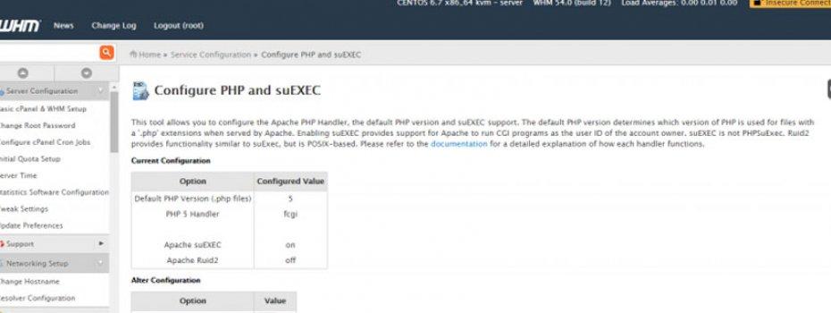 PHP 5 Handler Fcgi Session Timeout Sorunsalı